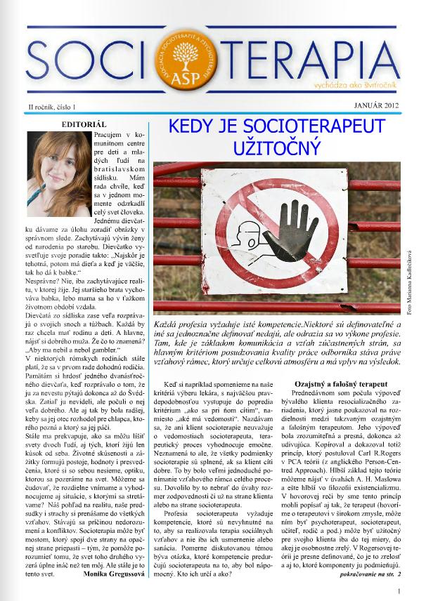 Socioterapia 2012/1
