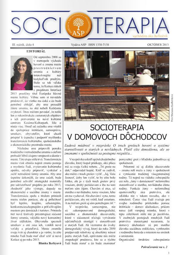 Socioterapia 2013/4