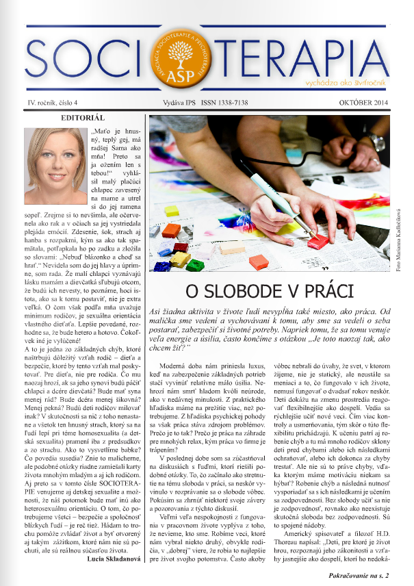 Socioterapia 2014/4