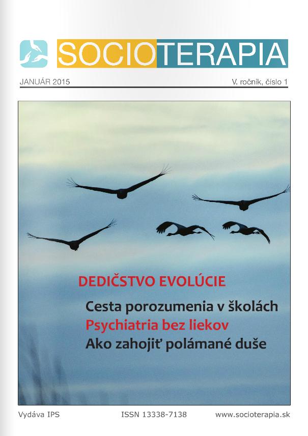 Socioterapia 2015/1