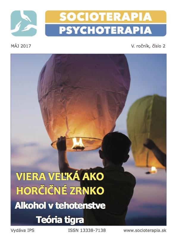 Socioterapia a psychoterapia 2017/2
