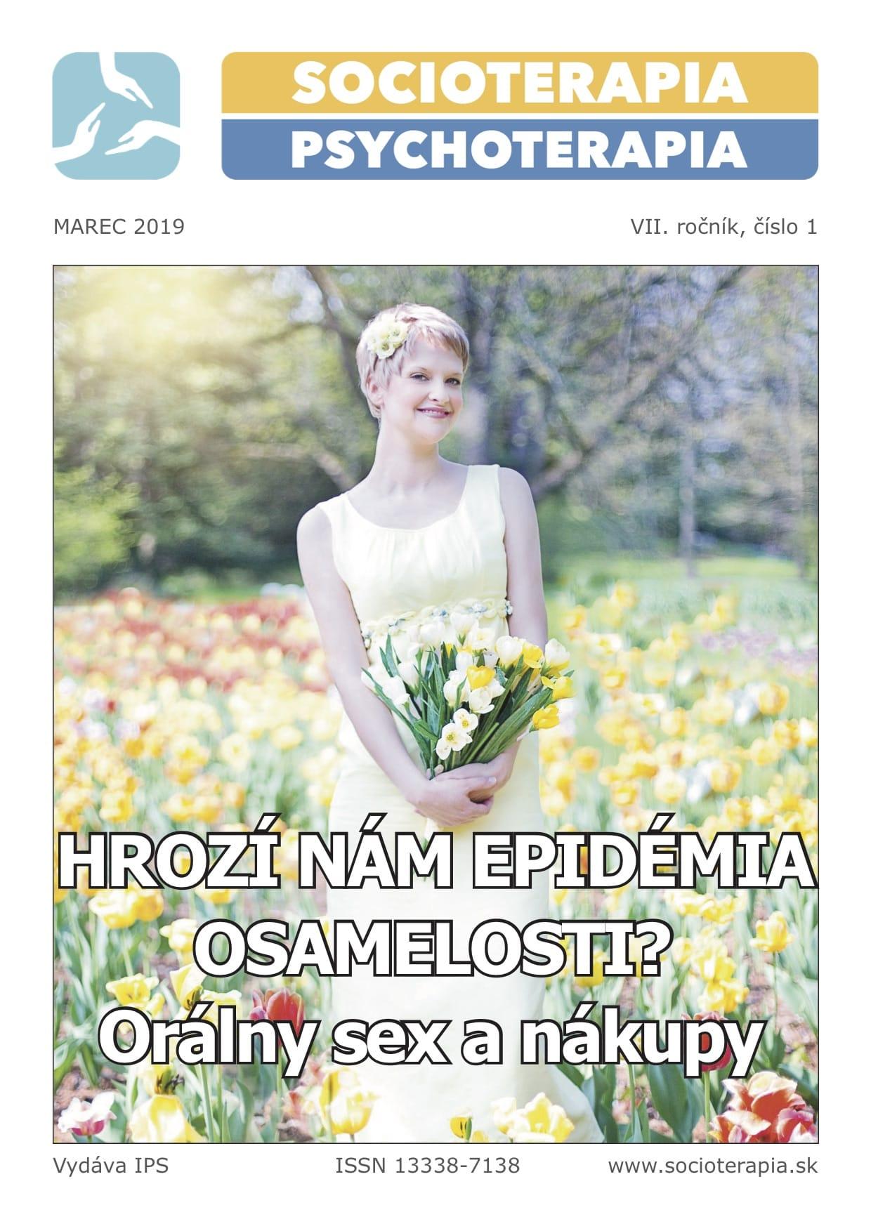 Socioterapia a psychoterapia 2019/1